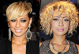 Keri Hilson's New Longer Hairstyle With Curls