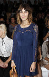 Picture of Alexa Chung at Paris Fashion Week