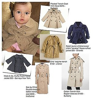 Trench Coats For Moms and Babies