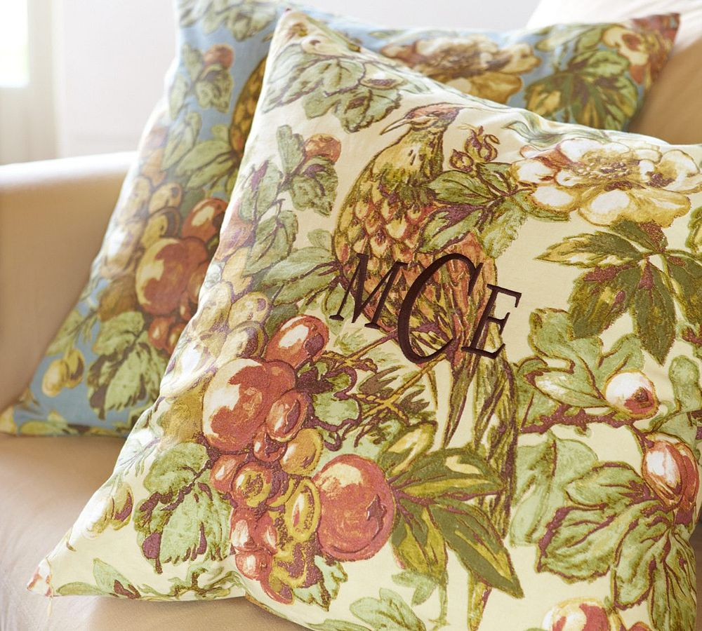 Get the look with the Pottery Barn Giorgetta Bird Pillow Cover ($17).