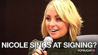 Video of Nicole Richie at Priceless Book Signing in LA