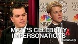 Video of Matt Damon Impersonating Matthew McConaughey and Other Celebrities 2010-10-08 12:27:14
