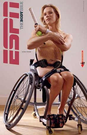 Esther Vergeer, Wheelchair Tennis Player