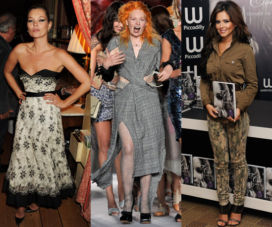 Kate Moss, Cheryl Cole, Vivienne Westwood and Victoria Beckham in Most Influential List