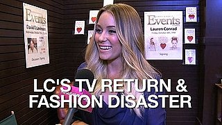 Video of Lauren Conrad at LA Book Signing Talking About Fashion Disasters and Returning to Reality TV 2010-10-11 19:30:00