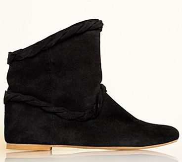 MNG by Mango Leather Boots ($88)