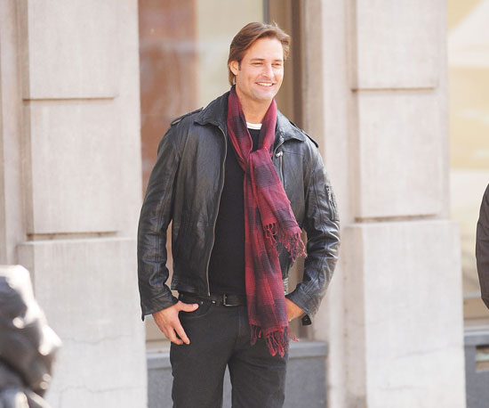 Slide Picture of Josh Holloway on the Set of Mission: Impossible 4