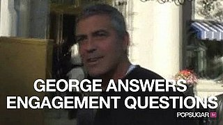 Video of George Clooney in Washington DC Talking About Elisabetta Canalis