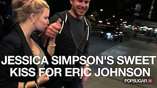 Video of Jessica Simpson Kissing Eric Johnson 2010-10-14 21:00:00