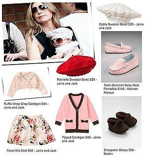 Stella Luna Pompeo Ivery's Baby Style