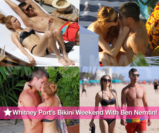 Pictures of Whitney Port in Bikini and Ben Nemtin Shirtless in Hawaii