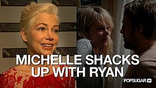 Video of Michelle Williams Talking About Living With Ryan Gosling at the Blue Valentine Premiere in London
