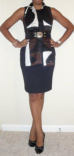 EconomyofStyle Wears a Tahari Sheath Dress in Five Ways