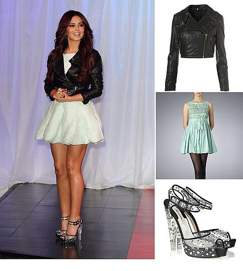 Get Cheryl Cole's Clear Perspex Heels Look at Madame Tussauds