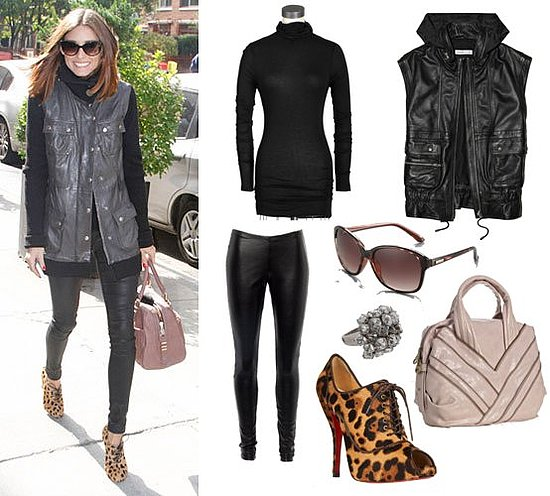 Pictures of Olivia Palermo Shopping in NYC