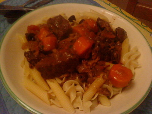 Beef Stew, Provecal Style (Daube Provencal)