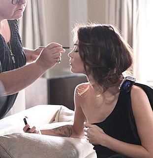 Pictures of Megan Fox Shooting Giorgio Armani Beauty Ad