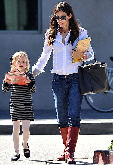 Pictures of Jennifer Garner and Violet