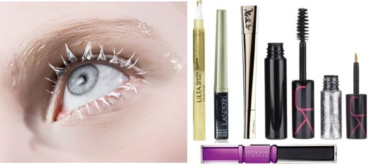 Silver Glitter Mascara And Glitter Mascara For