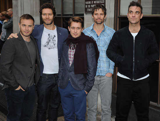 "Take That at Radio 1 Talking About New Album ""Progress"""
