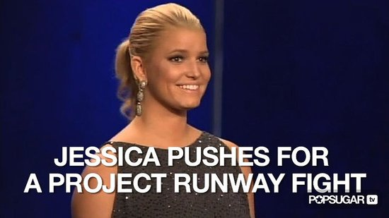 Video of Jessica Simpson on Project Runway Season Eight Finale 2010-10-28 02:00:00