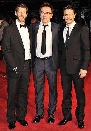 Pictures of James Franco, Danny Boyle and Aron Ralston at 127 Hours London Film Festival Premiere