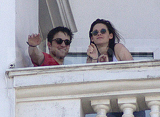 Pictures of Robert Pattinson and Kristen Stewart Together in Rio