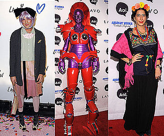 Pictures of Celebrity Halloween Costumes