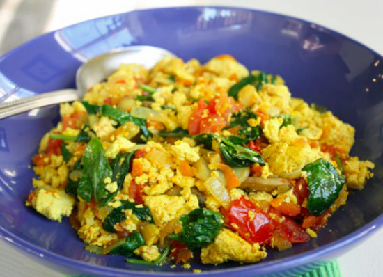 Tofu Scramble With Vegetables Recipe