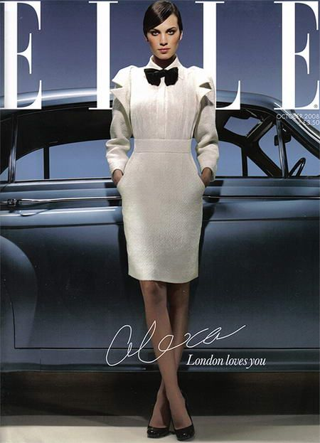 October 2008: ELLE UK (Subscribers' Cover)