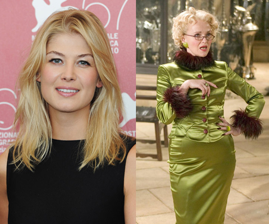 Rosamund Pike as Rita Skeeter