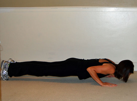 Drop Down Into the Push-Up