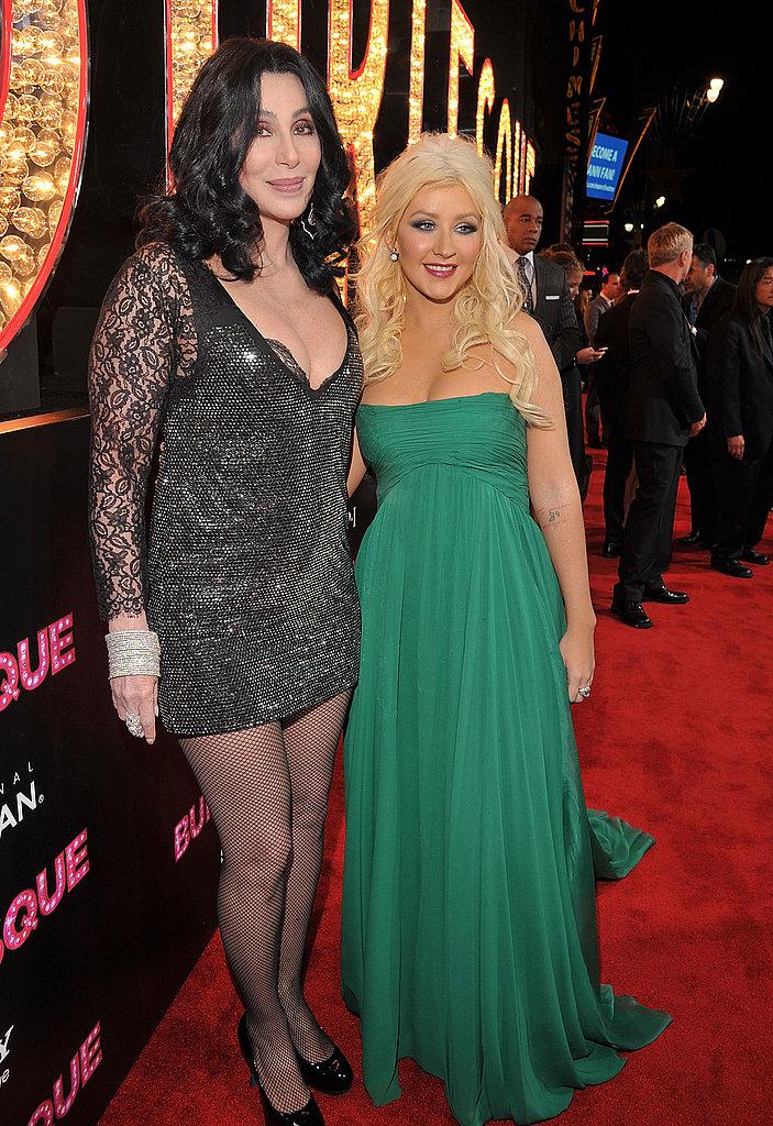 Pictures of Burlesque Premiere