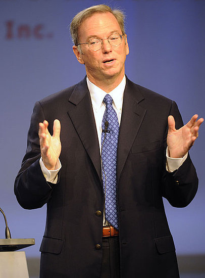 Eric Schmidt With a Nexus S Talking About Android Phones as Credit Cards