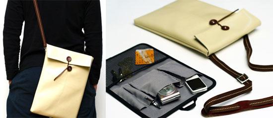Manila Folder Style iPad and MacBook Air Bag