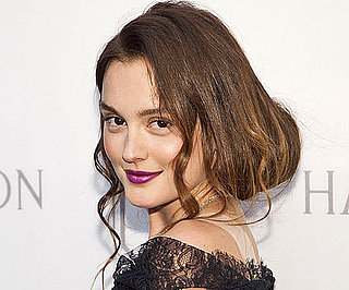 Leighton Meester's Wild Hair and Makeup at the Harry Winston Court of Jewels Recreation Launch