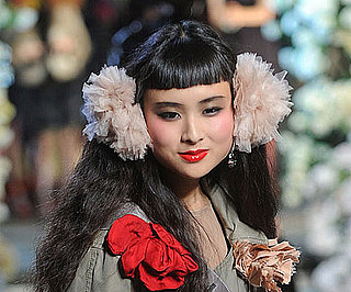 Pictures of Beauty Looks From Lanvin For H&M's 2010 Runway Show 2010-11-19 13:00:02