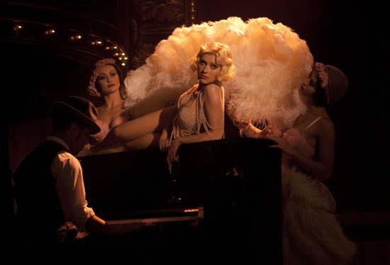 Burlesque Photos With Christina Aguilera, Cher, Kristen Bell, Stanley Tucci, and More