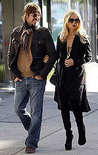 Pictures of Pregnant Rachel Zoe and Rodger Berman Shopping in LA