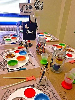 Arts and Crafts Children's Table Design