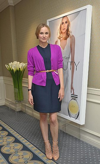 Diane Kruger Interview: Her Thoughts on Calvin Klein Beauty 2010-11-23 06:00:46