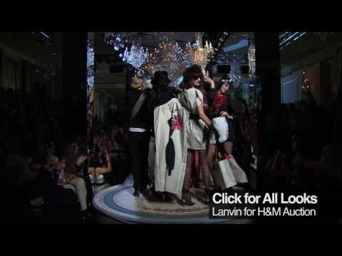 Lanvin For H&M Haute Couture Collection Video