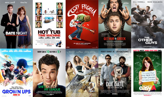 Best Comedies of 2010