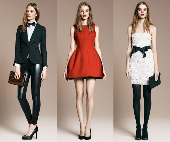 Pictures of Zara Evening Collection