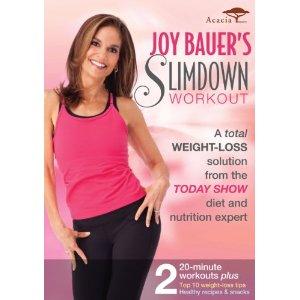 Joy Bauer's Slimdown Workout DVD