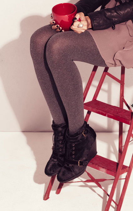 A wedge bootie that's as stylish as it is comfy.  Shop the look here.