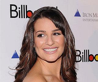 Lea Michele's Lipstick at Billboard's 2010 Women in Music Awards