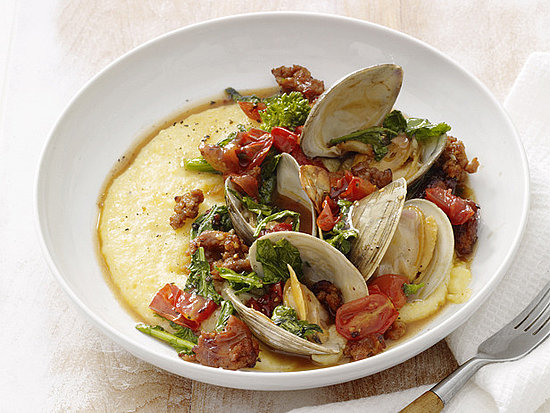 Recipe For Sausage and Clams With Polenta