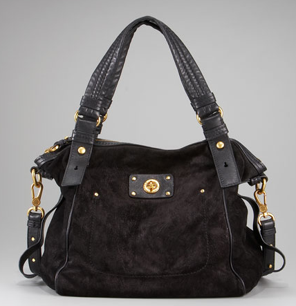 Marc by Marc Jacobs Hairy Turnlock Helena ($458)