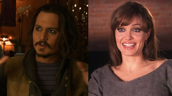 Video of Johnny Depp Calling Angelina Jolie a Perfect Beauty and Walking Poem 2010-12-03 12:05:23